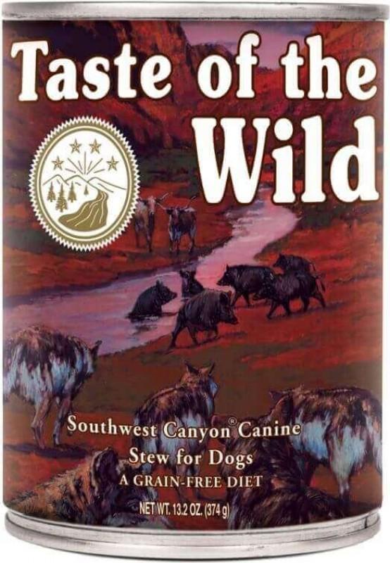 TASTE OF THE WILD Southwest Canyon Adult ohne Getreide mit Rindfleisch für Hunde