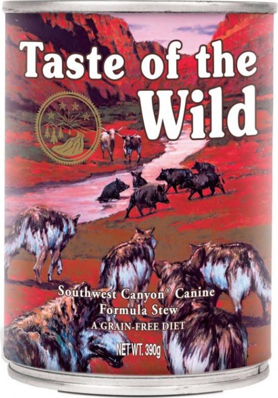 Pâtée TASTE OF THE WILD Southwest Canyon au Boeuf Sans Céréales pour chien adulte