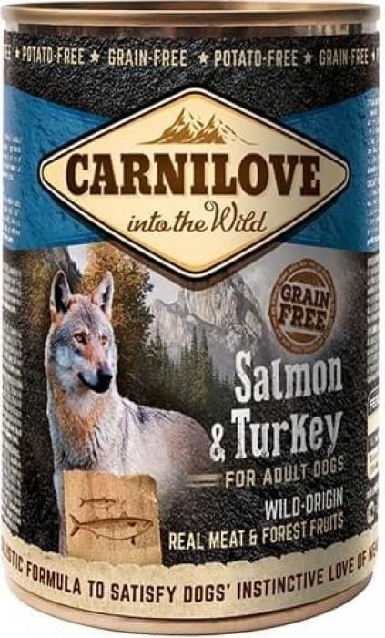 Pâtée pour chien CARNILOVE Saumon et dinde