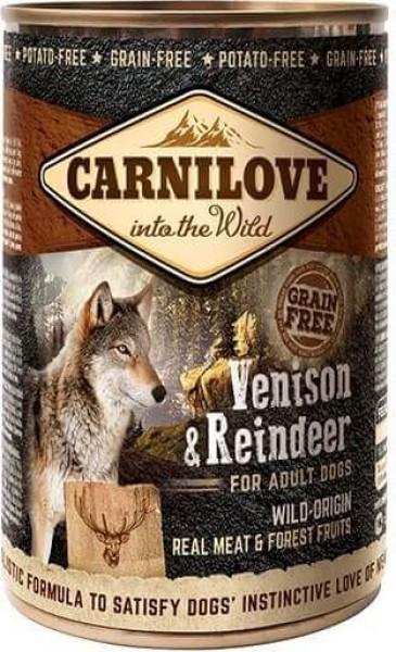Pâtée pour chien CARNILOVE au renne
