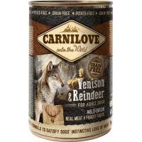 Patè per cani CARNILOVE con carne di renna