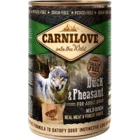 Pâtée pour chien CARNILOVE Canard et faisan