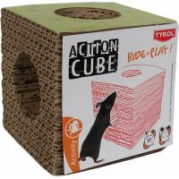 Tyrol Tunnel cube en carton pour rongeurs