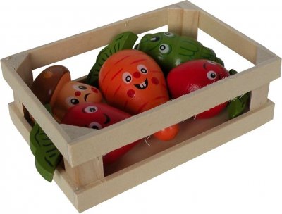 Caisse de légumes en bois à ronger TUTTI WOODY