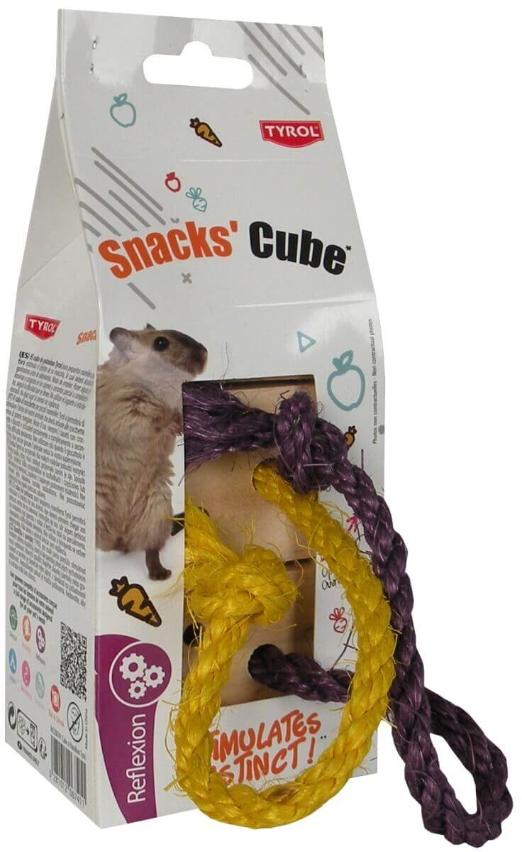 Cubo de golosinas para roedores Snacks Cube_1