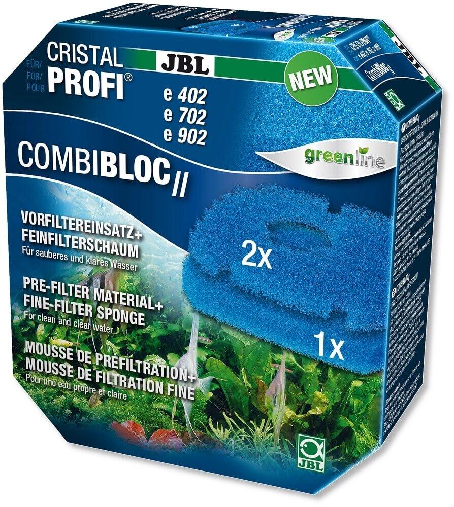 JBL mousse filtrante et préfiltre CombiBloc II CristalProfi e_0