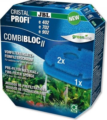 JBL mousse filtrante et préfiltre CombiBloc II CristalProfi e