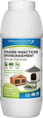 Poudre insecticide environnement Terre de Diatomée