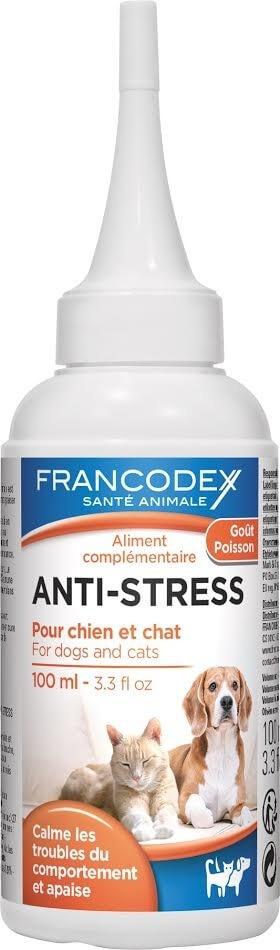 Gouttes calmantes anti-stress pour chien et chat_0
