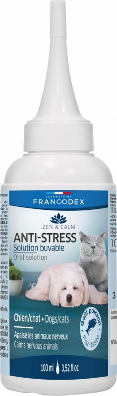 Francodex Gouttes calmantes anti-stress pour chien et chat