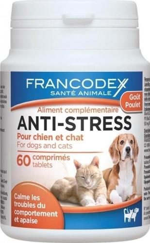 Comprimidos calmantes anti estrés para perros y gatos