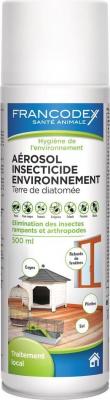 Aérosol insecticide habitat Terre de diatomée