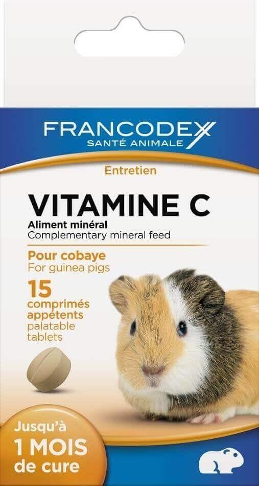 Comprimés Vitamine C pour rongeurs_0