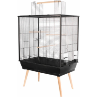 Cage perruches NEO Jili noire