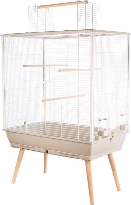 Cage perruches NEO Jili beige