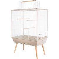 Cage perruches NEO Jili beige (1)