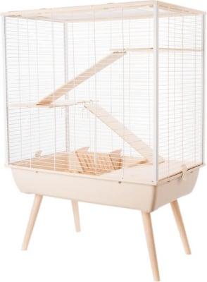 Kaninchenkäfige mit mehreren Ebenen