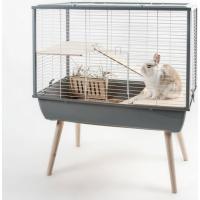 Kooi NEO Muki grijs voor konijnen en grote knaagdieren