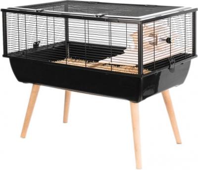 Cage NEO Nigha noire pour petit rongeur