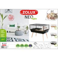 Cage pour petit rongeur - H64,5 cm - Zolux NEO Nigha noire