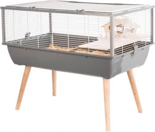 Jaula para hamster totalmente equipada con túnel