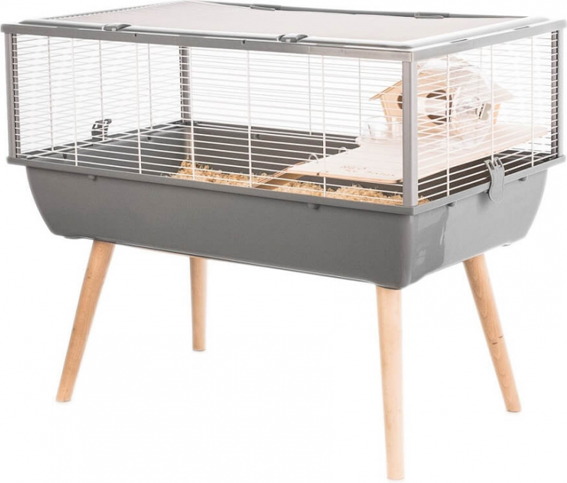 Cage NEO Nigha grise pour petit rongeur