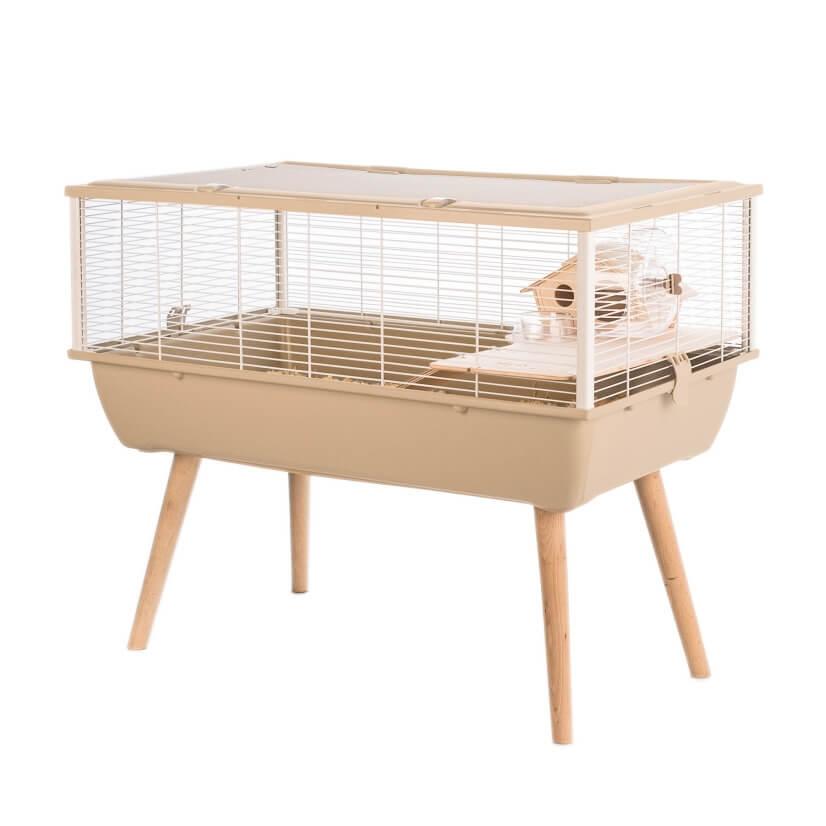 k fig neo nigha f r kleintiere in beige hamsterk fige. Black Bedroom Furniture Sets. Home Design Ideas