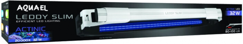 Rampa illuminazione LED Leddy Slim Actinic per acquario marino