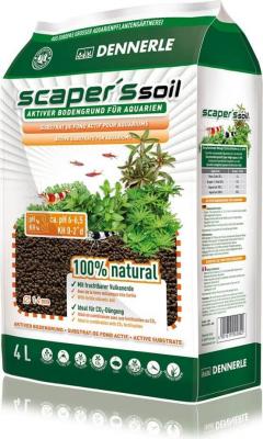 DENNERLE Substrat de fond actif pour aquarium SCAPER'S SOIL
