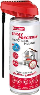 Spray précision insecticide habitat