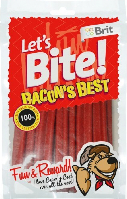 Sticks dentaires BRIT LET'S BITE Bacon's Best