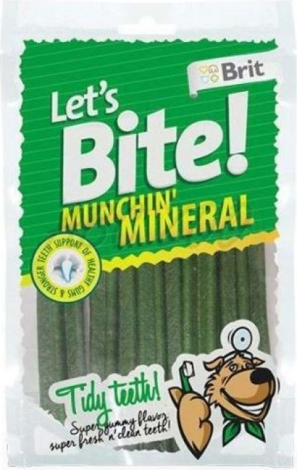 Sticks dentaires BRIT LET'S BITE Munchin'mineral