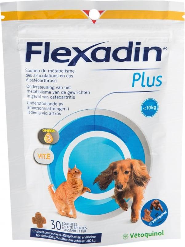 Vetoquinol Flexadin Plus Chat et chien de moins de 10kg