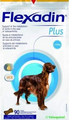 Flexadin Plus Vetoquinol chien >10kg Friandises pour les articulations