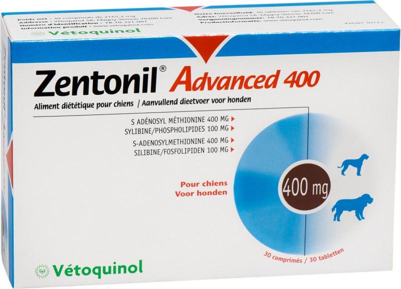 Vetoquinol Zentonil Advanced pour chien et chat
