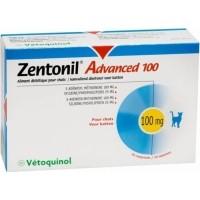 Zentonil Advanced Vetoquinol Soutien de la fonction hépatique pour chien et chat (30 comprimés)