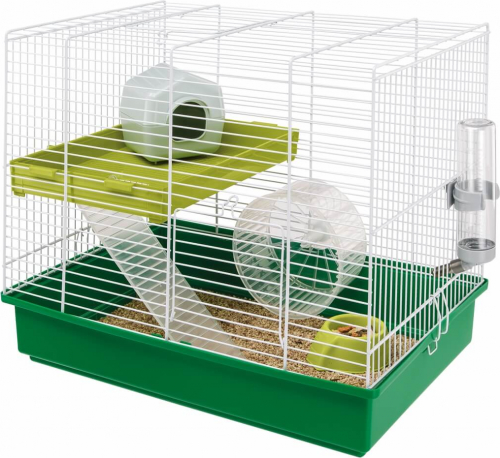 Cage Hamster Duo