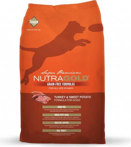 NutraGold Sans Céréales chien adulte Dinde et Pommes de terre