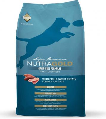NutraGold Sans Céréales chien adulte Poisson blanc et Pommes de terre