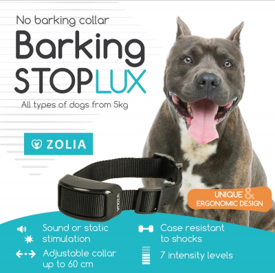 Collier anti-aboiement Zolia BARKING STOP LUX