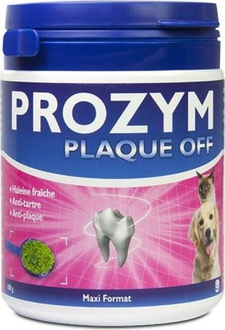 PROZYM Plaque Off Poudre Dentaire pour Chien et Chat