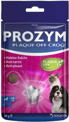 PROZYM Plaque Off Croq pour Chien et Chat