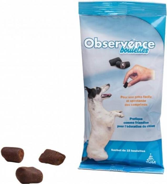 TVM Observence boulettes chien