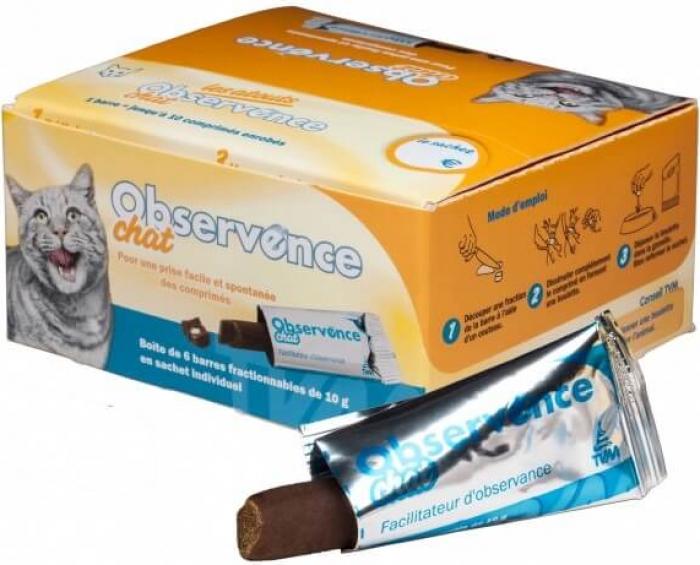 TVM Observence Barre Chat - Aide à la prise de médicaments