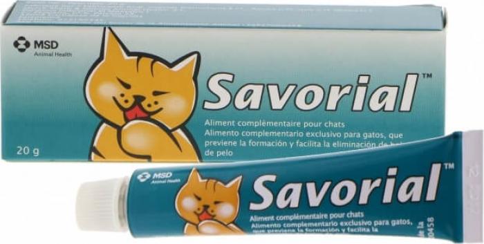 SAVORIAL complément anti boules de poils pour chat