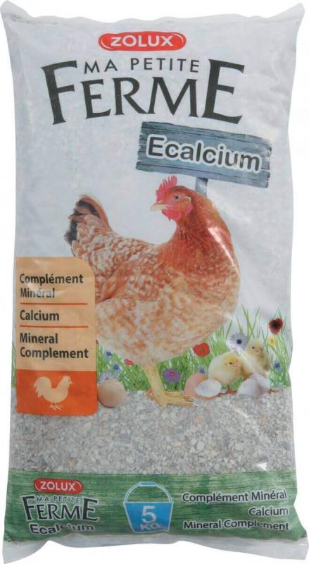 Ecalcium voersupplement voor kippen
