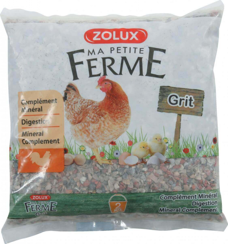 Grit pour poules aliment complémentaire minéral