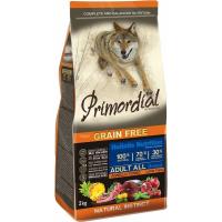 PRIMORDIAL Senza Cereali per cani adulti con tonno e agnello
