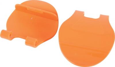 2 crochets PM orange pour cages Indoor