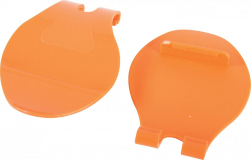 2 enganches GM Naranja para jaulas INDOOR